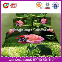 pigment printing 100%polyester fabric for made bed sheet