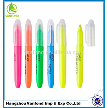 hot sale new promotional multi-color highlighter crayon
