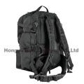 Heavy Duty Militar Exército Big Black Backpack Bag (HY-B096)