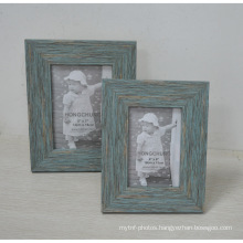 Distressed Plastic Frame for Home Decoration