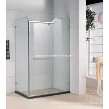 Cabine de salle de douche approuvée par la CE sans plateau (SE-205)