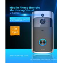 Nouvelle vente chaude APP Télécommande Vidéo Interphone Sonnette Wifi Sonnette avec Dingdong