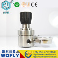 Regulador de pressão do compressor de ar regulador de argônio com medidor de vazão