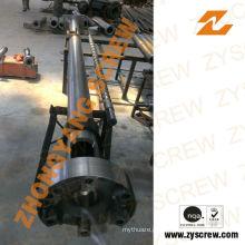 Granulador de peletização de filme reciclado Parafuso e cilindro bimetálico de 120 mm