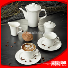 Eurohome manufacturer new product antique ceramic teapots and teacup