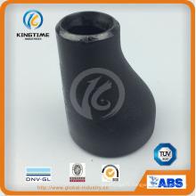 CS Ecc. Réducteur raccord de tuyaux en acier carbone à ASME B16.9 (KT0087)