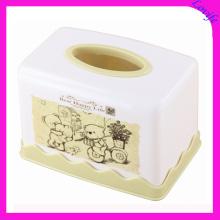 Plastic Creative White Tissue Boxes for Home (FF-5087-3)