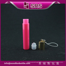 Novo plástico perfume rolo sobre garrafa e cosméticos embalagem perfume garrafa vazia