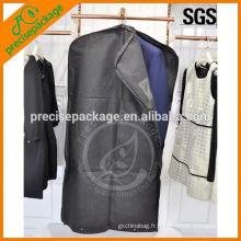 Sac de vêtement non tissé de haute qualité avec fermeture à glissière latérale à vendre