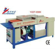 pequeña lavadora de vidrio YZZT-X500 alta eficiencia de trabajo