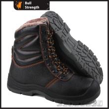 Cuir véritable hiver sécurité Boot avec embout d'acier (SN5300)