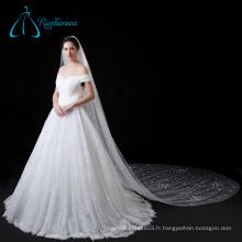 Accessoires de mariée de cathédrale Tulle Petal Long Wedding Veil