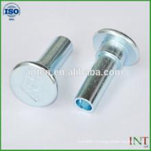 haute qualité matériel creux en aluminium rivets