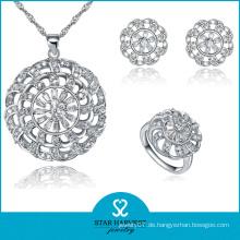 Werbe-Plain Silber Schmuck Set mit günstigen Preis (J-0059)