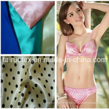 Shiny Silk Satin for Lady Bikini Clothes Fabric