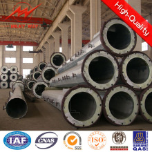Hot Galvanized or Powder Coating Steel Pole