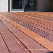 Chestnut Big Size Outdoor Best Material IPE Wood Timber Decking Floor