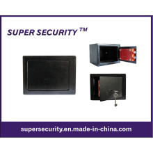 Acier résistant construit clé de verrouillage sécuritaire Cash Box (SMD19)