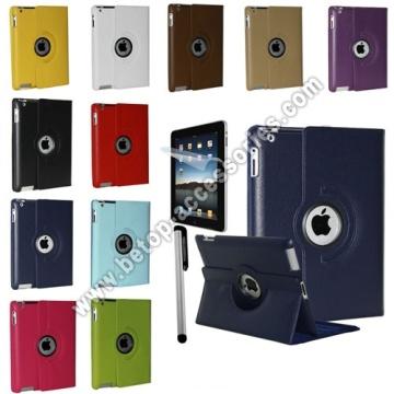 iPad 2 & 3 360 Вращающийся магнитный кожаный чехол