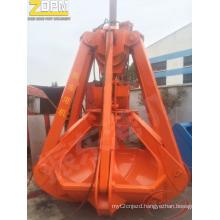 Orange-Peel Grab with Single Rope