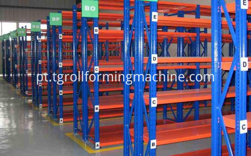 Mental Omega Channel Storage Rack Upright Shelf Machine
