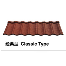 Stone Coated Metal Roof Tile (Classic Type)
