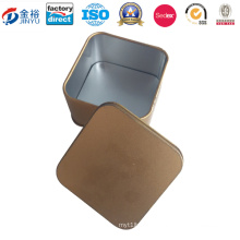 Custom Printed Square Shaped Metal Box for Wholesale Gift