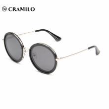 Gafas de sol redondas SVD pc marco polarizado tac moda mujer