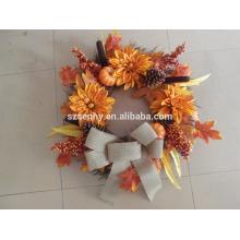 2017 Nouvelle couronne d'automne mélangée aux fleurs Berry Floral Design