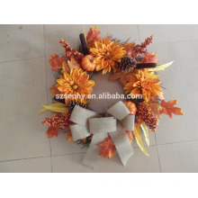 2017 New Design Berry Floral Mixed Fall Wreath