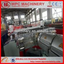 Доска деревянная пластиковая опалубочная машина / ПВХ WPC доска машина / WPC пенопласт экструзионная машина