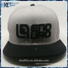 Mode mit 3D emboridery gute Qualität snpaback Hut machen in China
