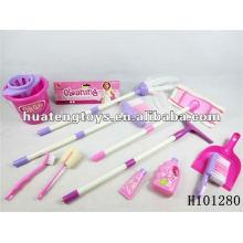 2012 пластиковые хорошие продажи уборка инструмента игрушки набор H101280