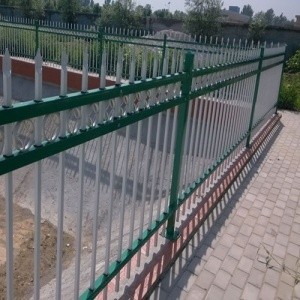 cheap Specialty Ornamental galvanized steel fence