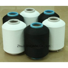 Factory Supply Polyester Spandex Machine Covered Yarn