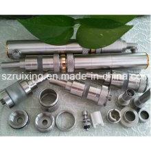 Pieza mecanizada de precisión a partir de accesorios de acero inoxidable