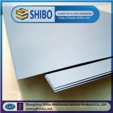 Специализирующаяся на 99.95% молибдена лист/лучшее качество плиты Молибденовой