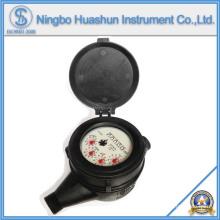 Medidor de água de tipo seco volumétrico / Medidor de água de plástico / Medidor de água de classe C