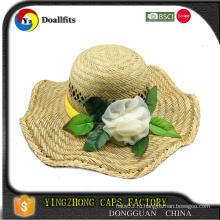 Шляпы соломенной шляпы высокого качества, сделанные в Китае