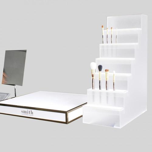 APEX Luxury Acryl Counter Cosmetic Brush Display