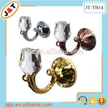 Ganchos decorativos magnéticos ajustables del tieback de la cortina, ganchos baratos del tieback de la cortina