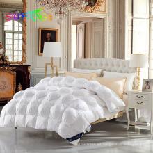 Pato abajo / ganso abajo hotel alternativo hogar 100% algodón downproof tela ganso abajo qulit