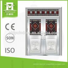 2016 Melhor qualidade 304 aço inoxidável porta dupla de Yongkang