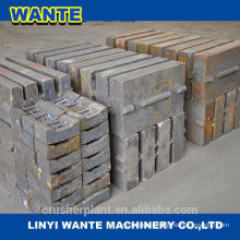 Fixed jaw Plate/crusher parts/good price/factory offer