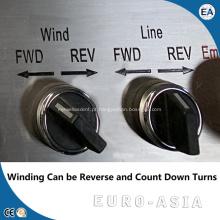 Máquina de enrolamento de bobina de fio de cobre