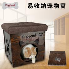 2017 Moda de alta qualidade luxo Modern Dobrável Pet Casa Cadeira