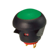 IP67 À Prova D 'Água À Prova de Poeira Momentânea Botão Interruptor
