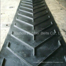V Shaped Pattern Rubber Conveyor Belt