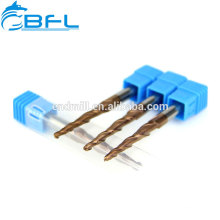 BFL Carbide Taper Ball Nose End Mills For Wood Cutting