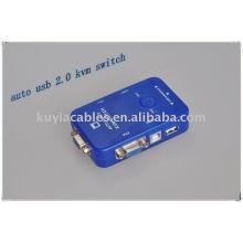 Премиум авто USB2.0 KVM-переключатель для компьютера